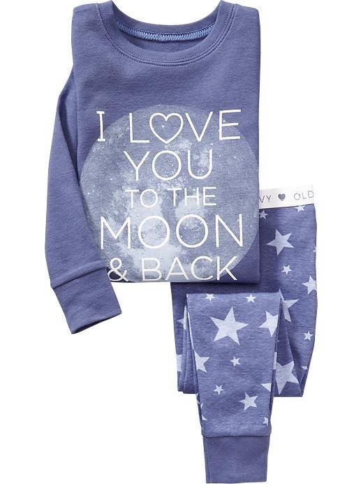 """Love You to the Moon"" Sleep Set"