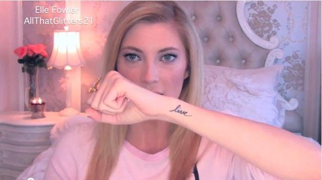 Live Tattoo side arm side wrist