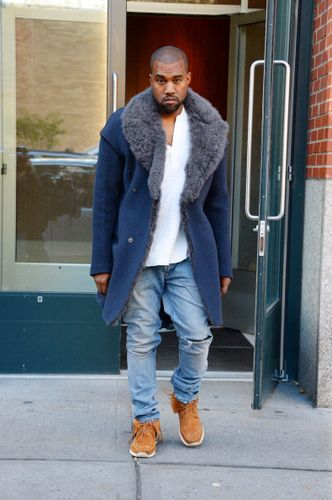 Kanye West Predicted 2014's Menswear Fur Trend: Fashion Shows: GQ