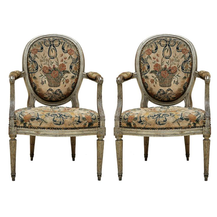 For Sale on   Pair of French Louis XVI painted open armchairs  channeled  medallion back connecting padded armchairs and serpentine seat  original Louis  XVI  610 best Louis XVI and Louis XVI Style Furniture images on  . Louis Xvi Style Furniture For Sale. Home Design Ideas