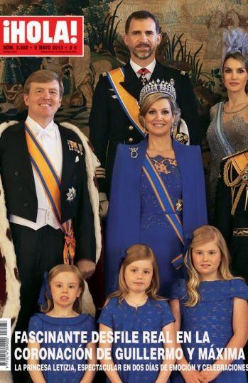 Máxima de Holanda, reina, señora y dueña de las revistas del ...