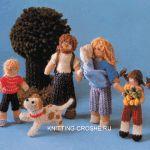 вязаные куклы с описанием