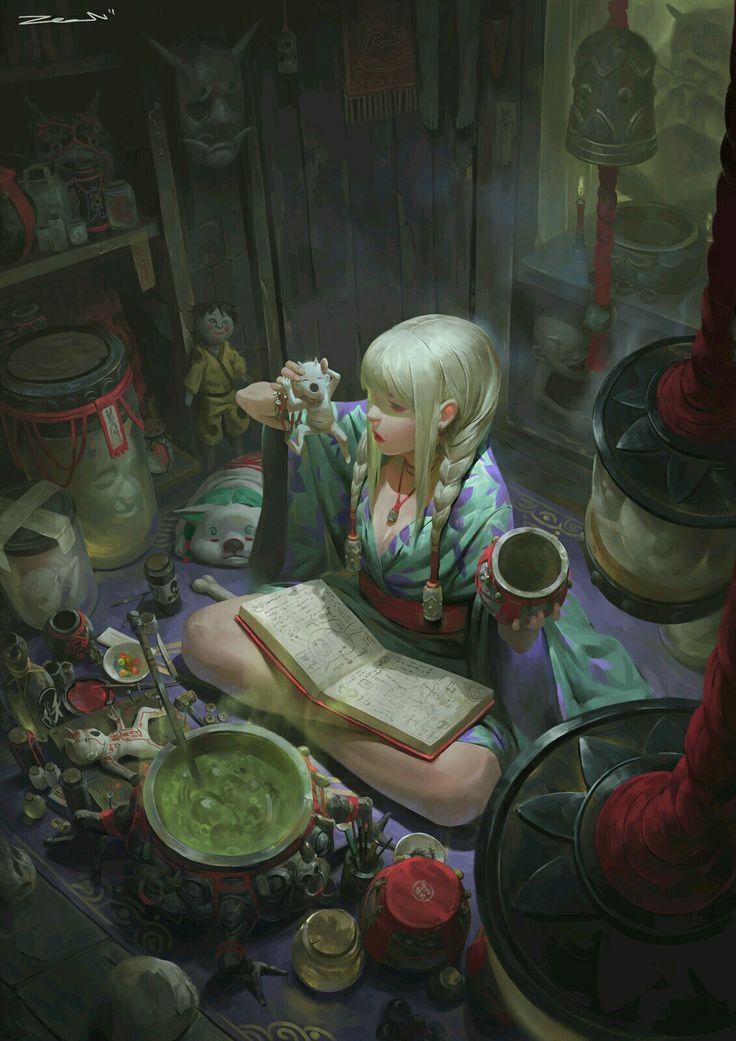 Sperimentare le doti alchemiche: scegli un giocatore e guarda la sua mano, pesca tanti veleni quante sono le sue pozioni poi pesca tante pozioni quante sono i suoi veleni. Il giocatore che subisce l effetto scarta tutte le pozioni e veleni.