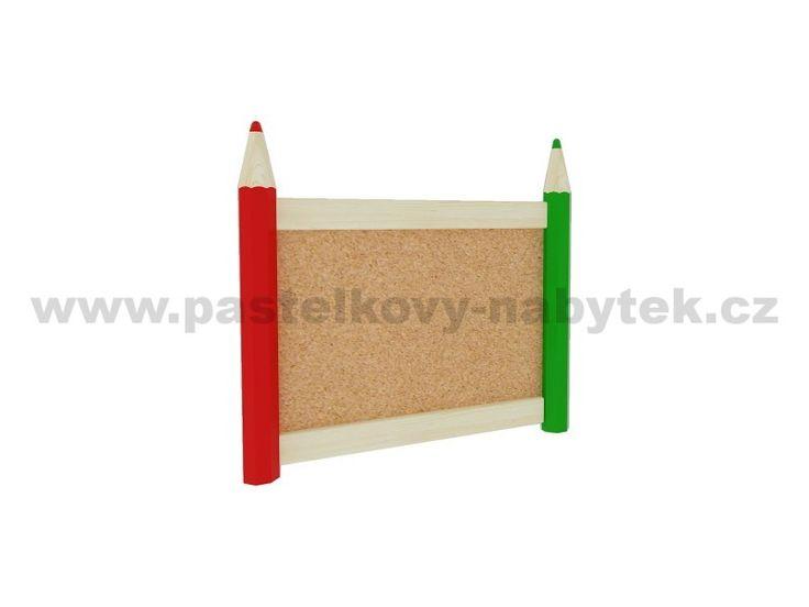 Korková nástěnka malá | Dětský dřevěný nábytek - BOB nábytek