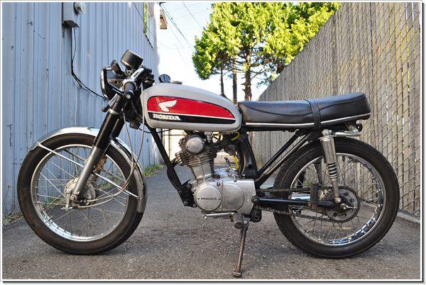 1970 Honda CB100 Cafe Racer
