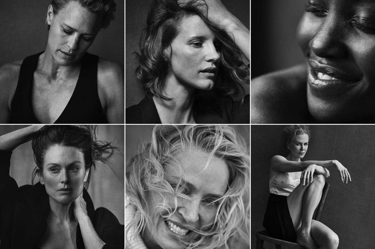 in 2017, the pirelli calendar is rejecting retouching | look | i-D
