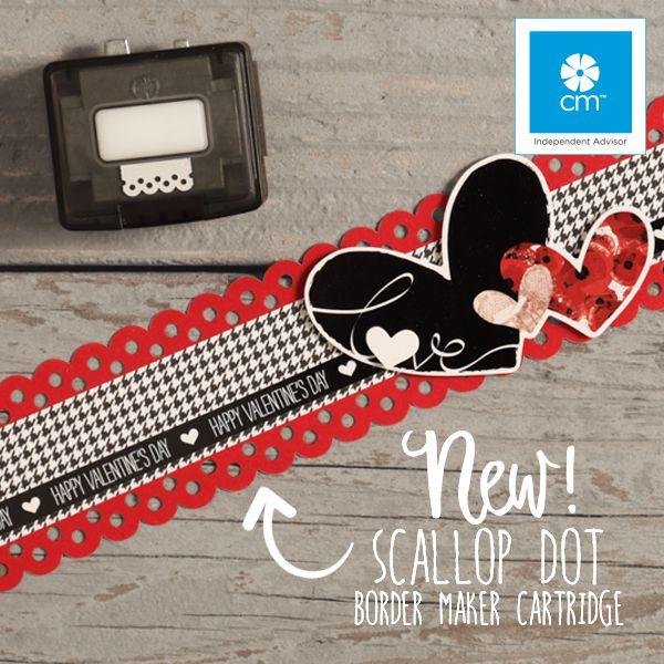 NEW Scallop Dot Border Maker Cartridge! www.creativememories.com/user/dayna