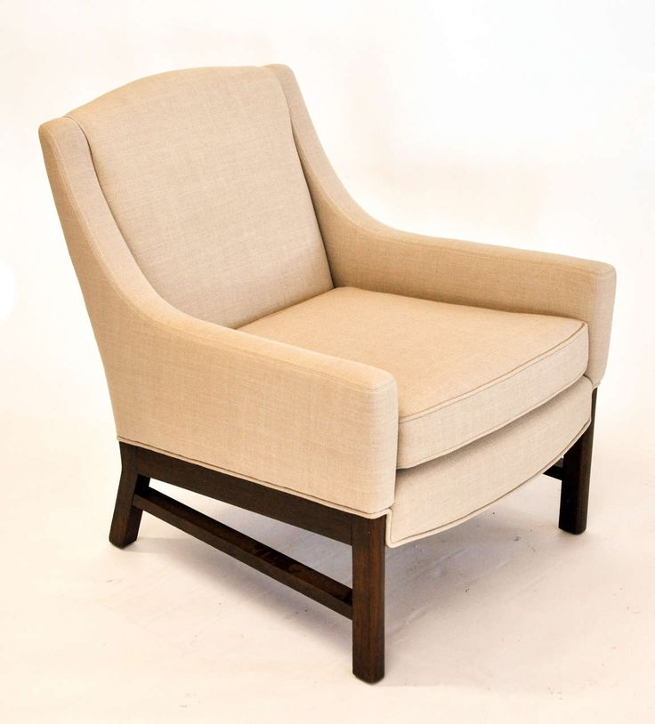 Lounge Chairs Attributed to Edward Wormley for Dunbar 2
