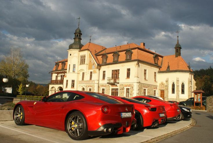 Meeting of owners of Ferrari at the Augustinian House Hotel