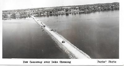 The new Causeway over Lake Chemong