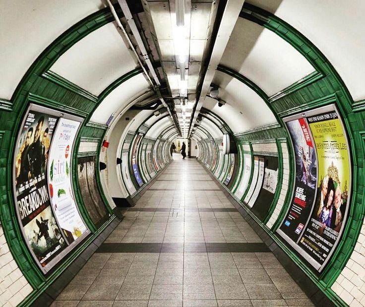 #Embankment underground station by @sabr.nita || #thisislondon by london