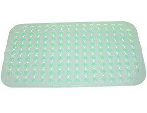 WARRAH Pebble design Tapis en caoutchouc Tapis de bain à remous pieds Soins de santé Tapis de nettoyage pour baignoire ou douche -Natural…