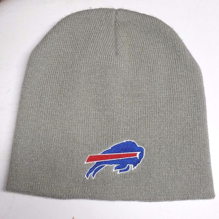 NFL Buffalo Bills Molson Canadian Winter Cuffless Beanie Hat Gray #BuffaloBills