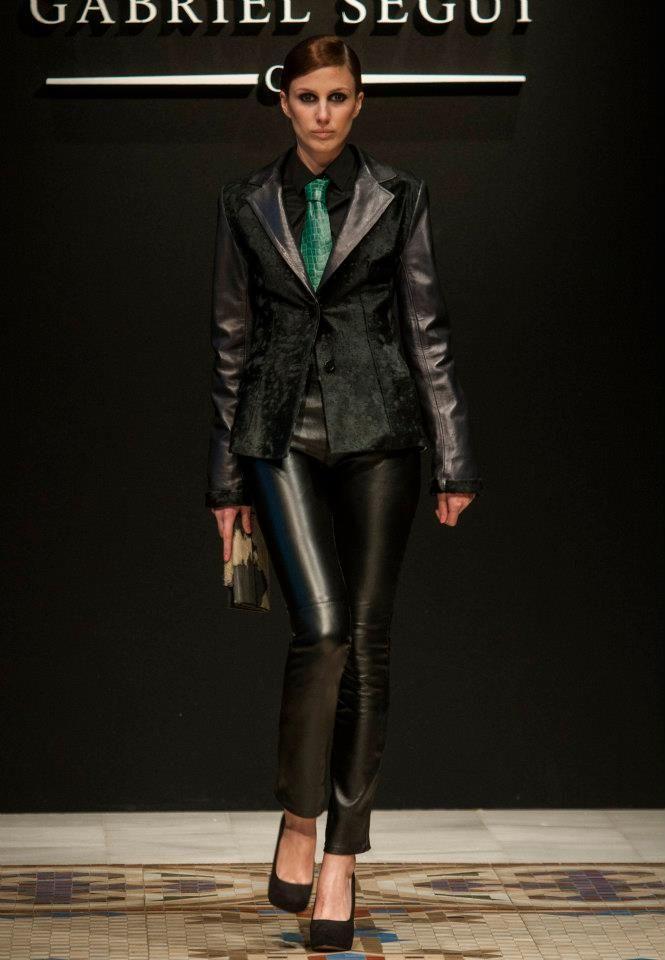 Colección Cravate en Cuir #GabrielSeguí #moda #spain #piel http://www.gabrielsegui.com/