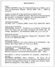 Normas Tecnicas Colombianas: NORMA TECNICA COLOMBIANA NTC 4490 REFERENCIAS DOCUMENTALES PARA FUENTES DE INFORMACION ELECTRONICAS