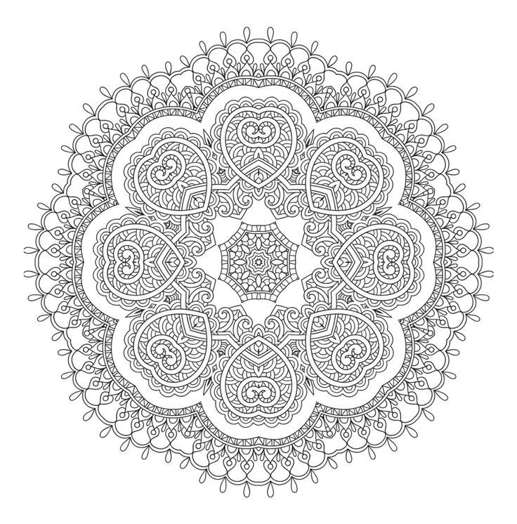 101 Mandalas The Big Coloring Book Mandala Coloring Pages Coloring Books Coloring Book Art