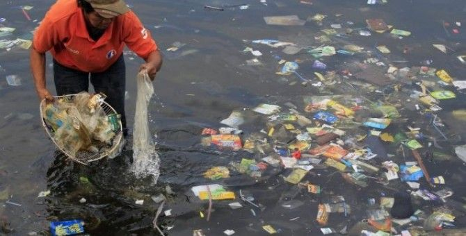 To solve climate change, start by tackling plastic waste