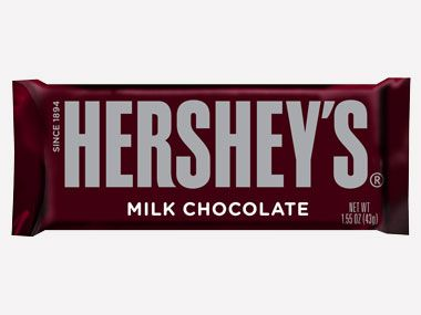 Did you know? In the 1940s, every GI's ration kit contained a Hershey bar.