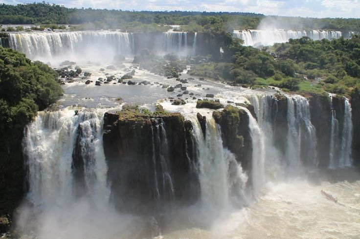Iguazu Falls, Border of Argentina and Brazil