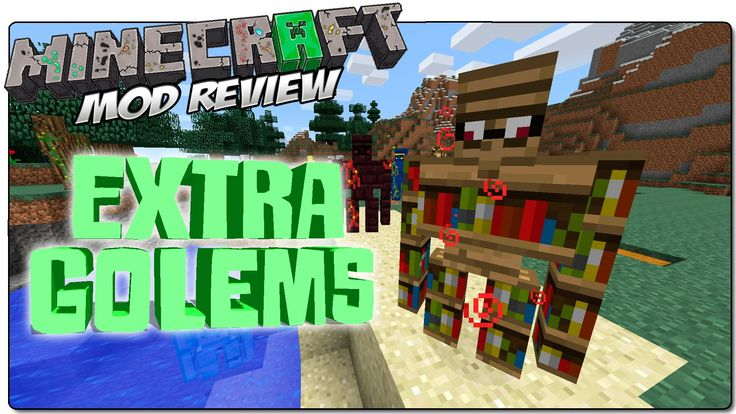 What is Extra Golems Mod? The Extra Golem mod does exactly what it says on the packet it adds many, many more golems, twenty to be precise. Now this is a really cool mod because, well, golems are really cool! Also, they all come in really cool designs. Varying from glass, wood, gold and The post Extra Golems Mod 1.9/1.8/1.7.10 appeared first on aMinecraft.