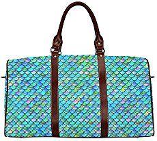 mermaidhomedecor - Mermaid Scales Waterproof Handbag $54.99