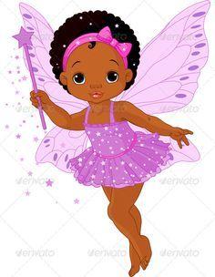 cartoon image of african american girls - Google Search