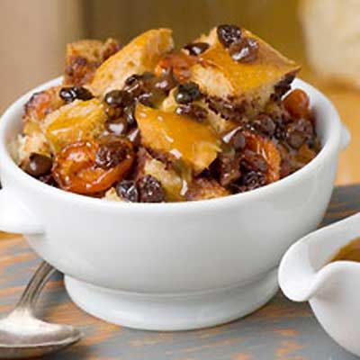 #Chocolate Apricot and Raisin Bread Pudding in a #slowcooker! #recipe