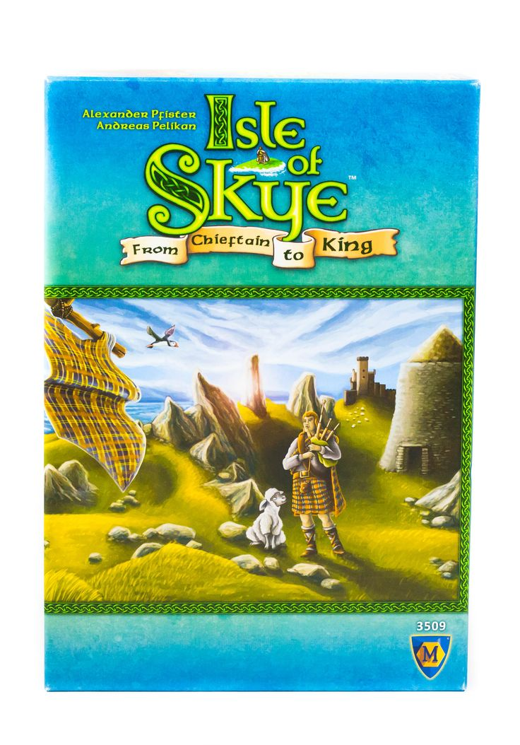 """Mostanában elég sokszor kerül elő a Lookout Games egyik tavalyi újdonsága, az Isle of Skye, ezért megérdemel egy saját bejegyzést. A játék a 2016-os a Spiel des Jahres """"szakértői"""" kategóriáját nyerte meg. #spieldesjahres #IsleofSkye #kennerspiel #tarsasjatek"""