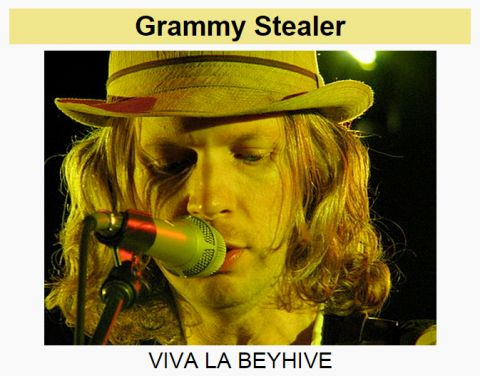 Beyonce fans wrecked Beck's Wikipedia page after the Grammys   11.02.2015