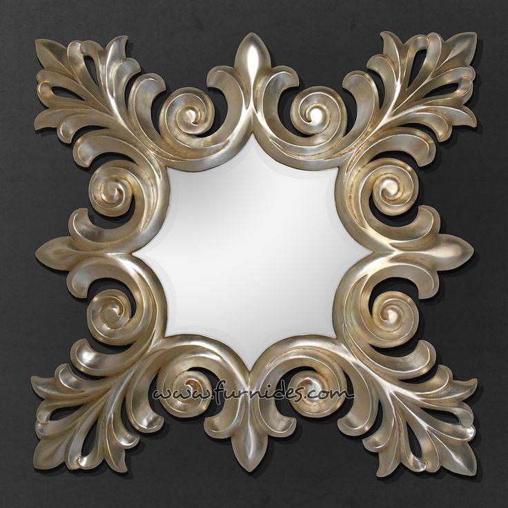 Mirrror IDCD065 Silver Leaf Gold