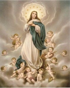 Imaculada Conceição, Virgem Maria