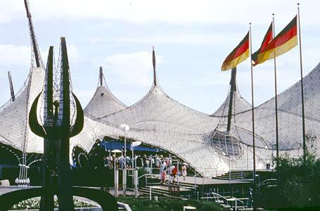 Multimedia for world's fair: West German pavilion, designed by Frei Otto, at the Expo 67 world's fair, Montreal. Explore the updated online encyclopedia from Encyclopaedia Britannica with hundreds of thousands of articles, biographies, videos, images, and Web sites.