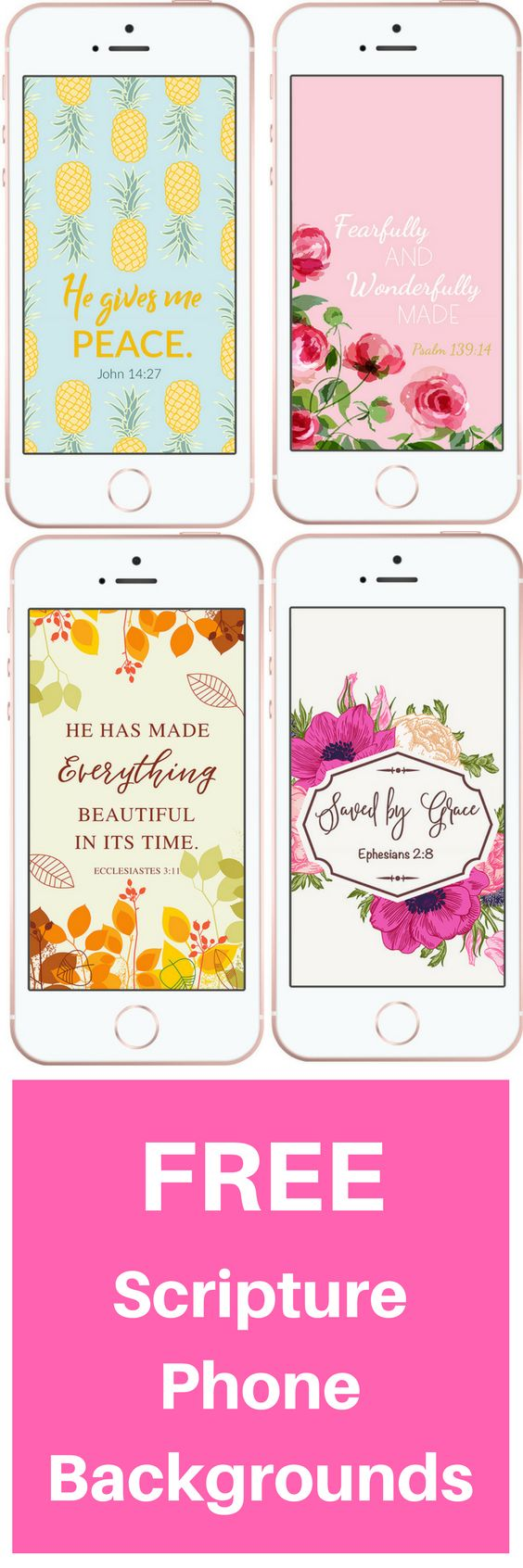 Add some Faith to your phone :) FREE christian phone backgrounds | scripture wallpapers | free Christian downloads | Inspirational phone wallpapers
