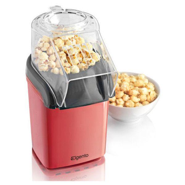 🎬 Elgento E26006 Fabricante de Pipoca ($ 21) gostou em Polyvore com casa, cozinha e sala de jantar e pequenos aparelhos -  / 🎬  Elgento E26006 Popcorn Maker ($21)  Liked on Polyvore featuring home, kitchen & dining and small appliances