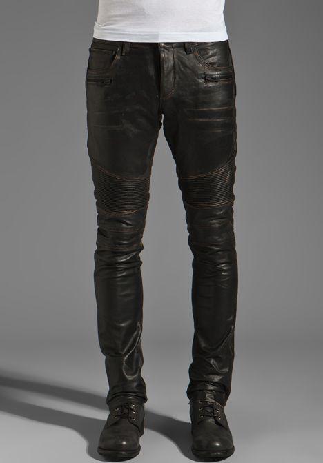 Best 25  Mens leather pants ideas on Pinterest