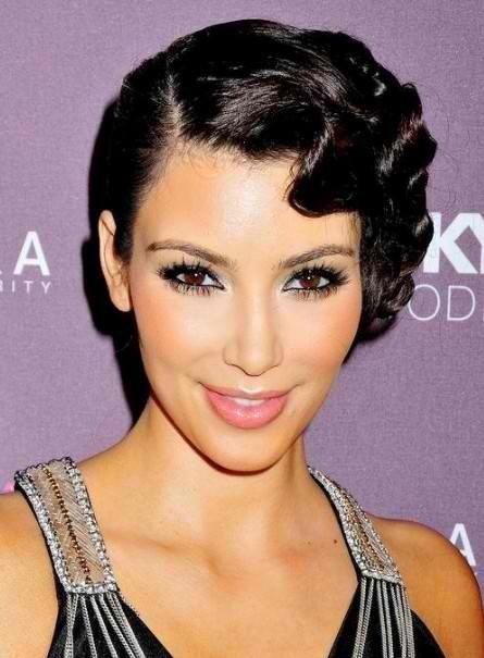 Celebrity Hair | Kim Kardashian