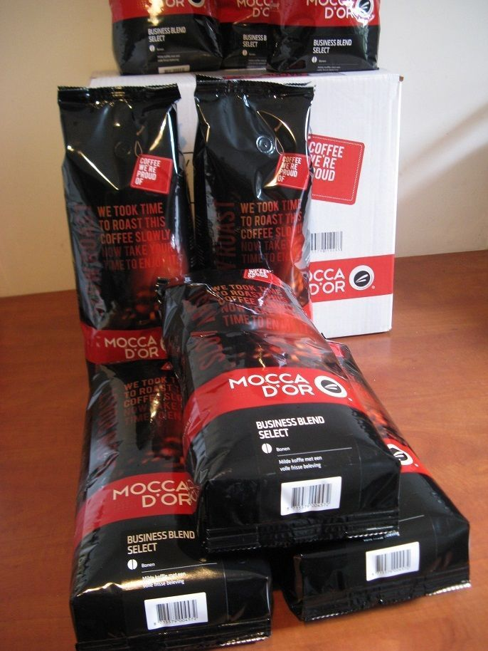 Mocca d'Or coffee: Business Blend Select...Mild beans box: 8 x 1 kg... #MoccadOr