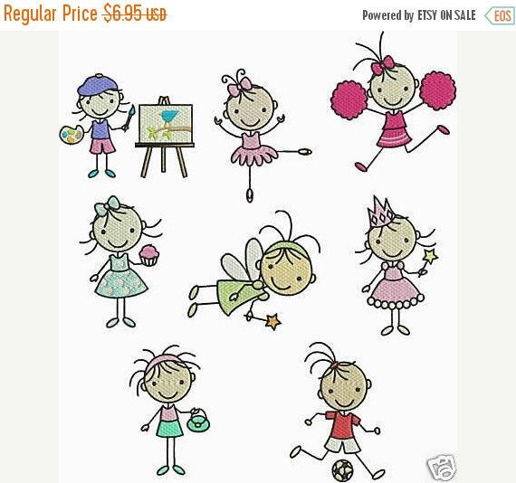INSTANT Download PES FORMAT only Machine Embroidery Designs 8 Stick Girls Artist Cheerleader Fairy Princess Soccer Ballerina Ballet Cupcake by PineTreeEmbroidery on Etsy https://www.etsy.com/transaction/1099222057