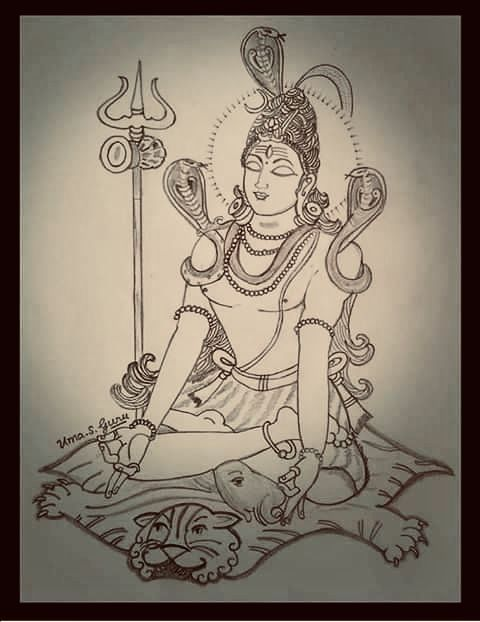 Pin by Suresh Dhawan on Shiva in 2019 | Art sketches, Pencil
