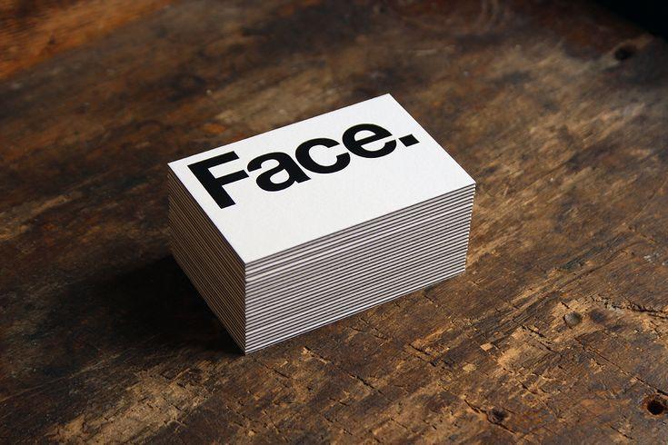 La Tipográfica | Letterpress Studio Monterrey, México Face - Tarjetas de presentación - La Tipográfica | Letterpress Studio Monterrey, México