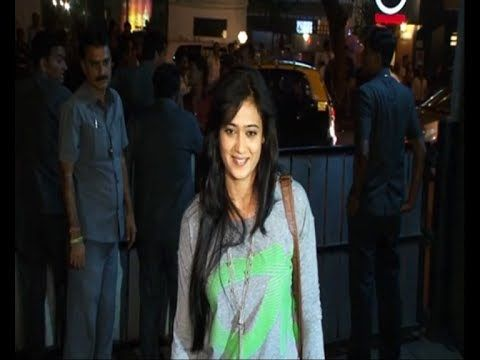 Shweta Tiwari @ special screening of JAI HO.