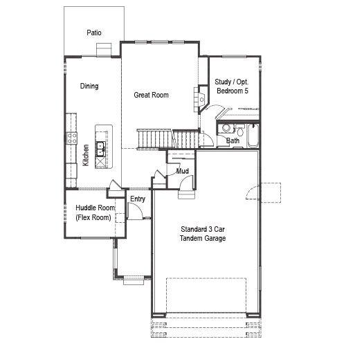 Keller Homes Floor Plans House Design Plans