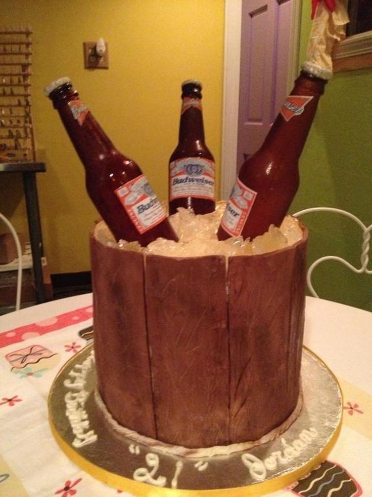 Best 25 Beer Birthday Cakes Ideas On Pinterest Birthday