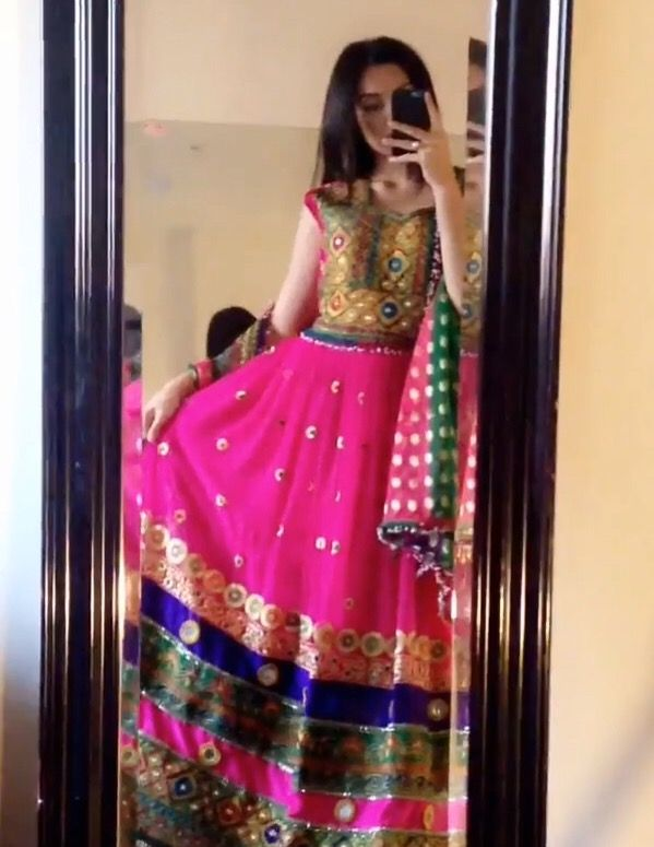 #Afghani #dress #jewelry #afghan #style