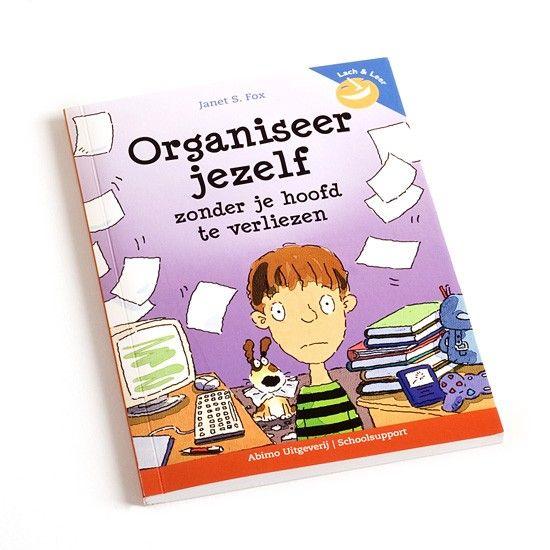 Organiseer jezelf - Dit praktische en grappige boek boordevol tips helpt kinderen bij het organiseren, plannen en ordenen. Het voordeel: meer tijd, minder stress en meer succes.