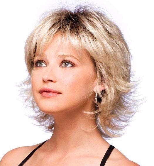 pin hairstyles - shags layered