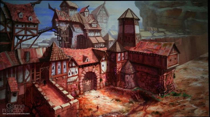 Concept art from Everquest Next