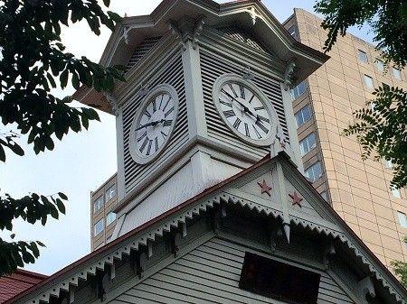 時計台~定番観光スポット|札幌ぶらぶらダイアリー #時計台