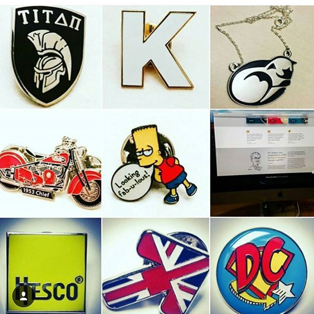 Here's a cool montage of some of our stuff which bblowwnn featured on their Instagram page  give them a follow @bbllowwnn #pingame #pingamestrong #enamelpins #pins