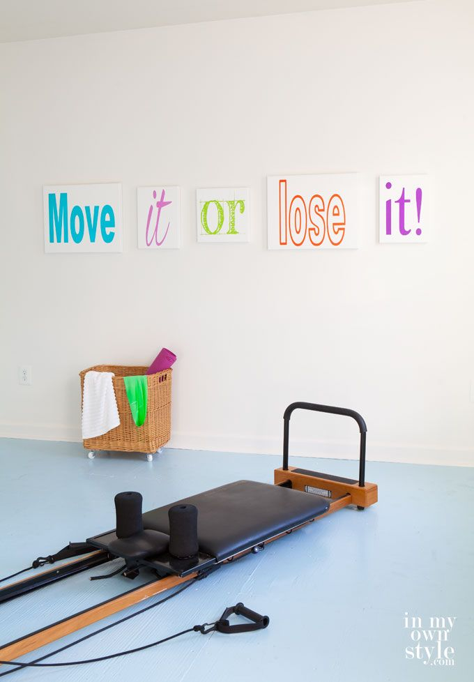 Fitness Room Artwork - In My Own Style